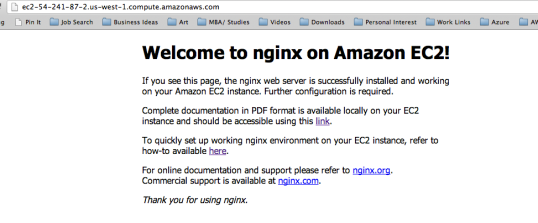 04 Nginx Welcome